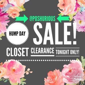 Wednesday Night Sale!